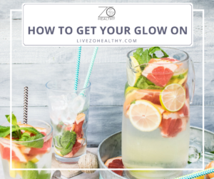 NJ Personal Wellness Coach Audrey Zona Get Your Glow On Detox Water - fruit Infused Water