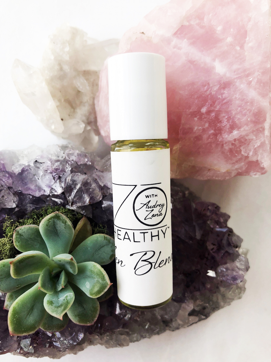 Audrey Zona NJ Integrative Personal Health Coach Favorite Valentine's Day Gifts Zo Healthy Gift Oil