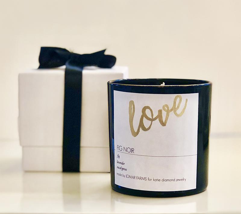 Audrey Zona NJ Integrative Personal Health Coach Favorite Valentine's Day Gifts Katie Diamond Jewelry Love Candle