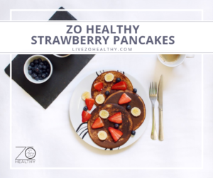 NJ Personal Health Coach Integrative Health Coach Audrey Zona Zo Healthy Strawberry Pancakes