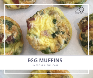 NJ Personal Health Coach Integrative Health Coach Audrey Zona Zo Healthy Egg Muffins