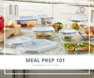 NJ Personal Health Coach Integrative Health Coach Audrey Zona Zo Healthy Meal Prep 101
