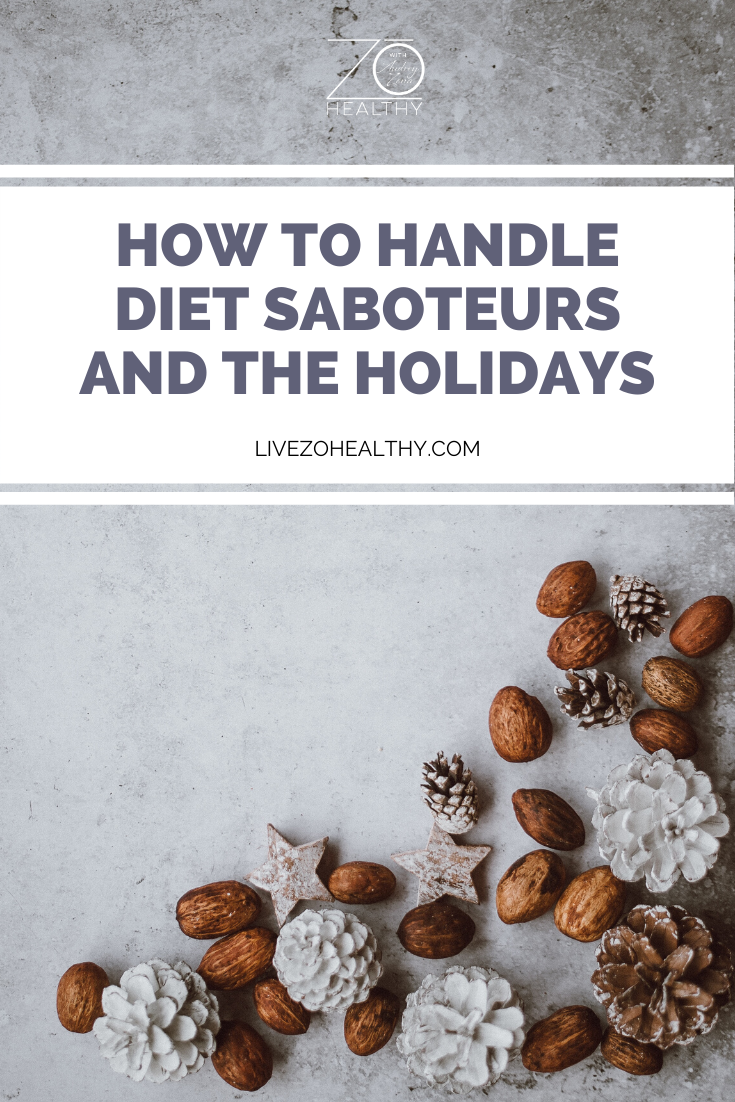 NJ Personal Health Coach Integrative Health Coach Audrey Zona, Live Zo Healthy - How to Handle Diet Saboteurs and the Holidays