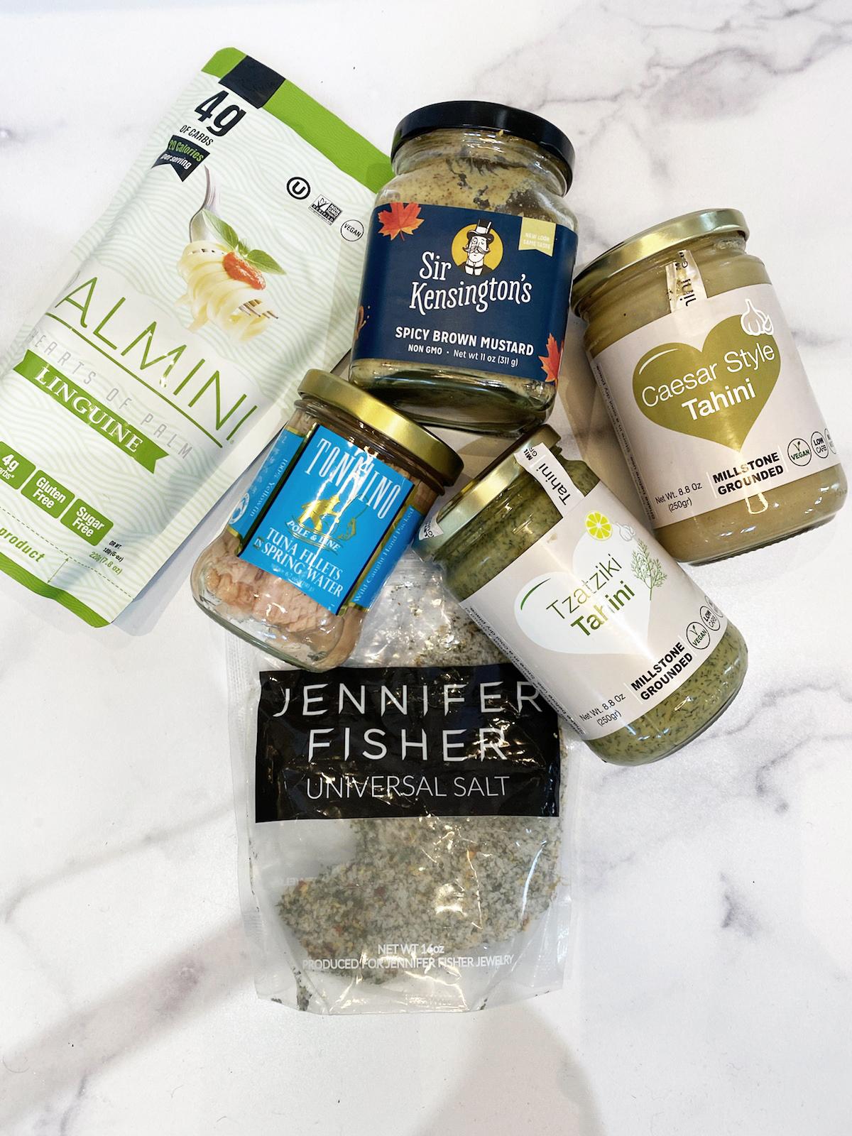 Tuna Salad ingredients Image
