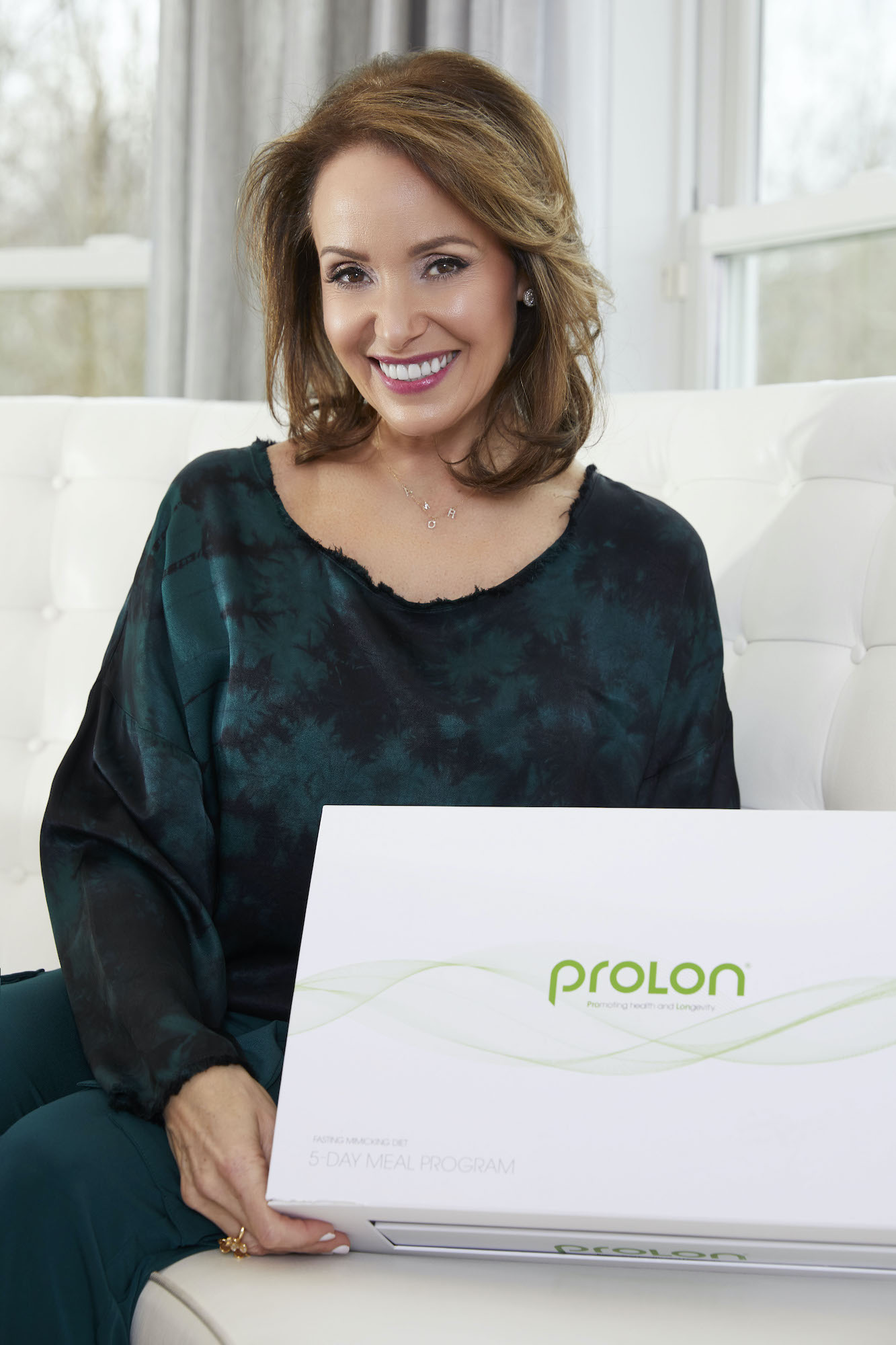 Audrey with ProLon 5-day kit