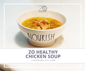 Zo Healthy Chicken Soup photo