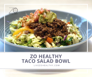 Photo of Zo Healthy Taco Salad