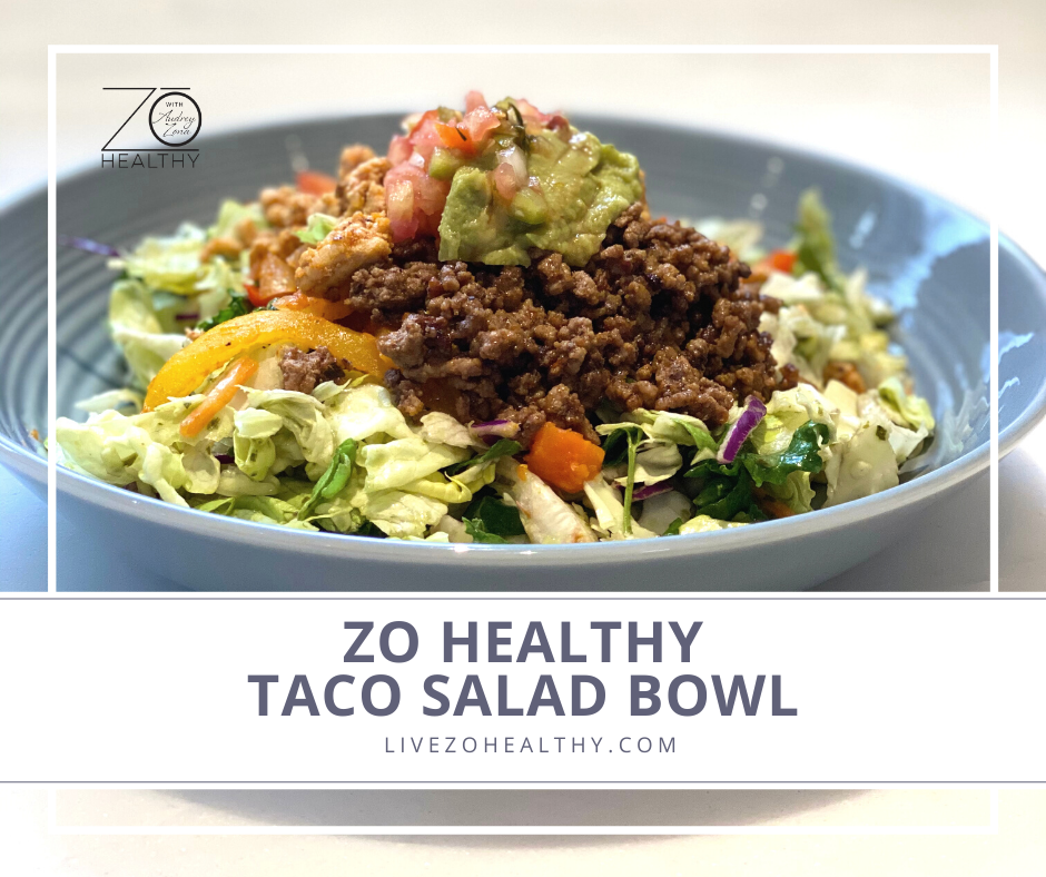 Zo Healthy Taco Salad Bowl Photo