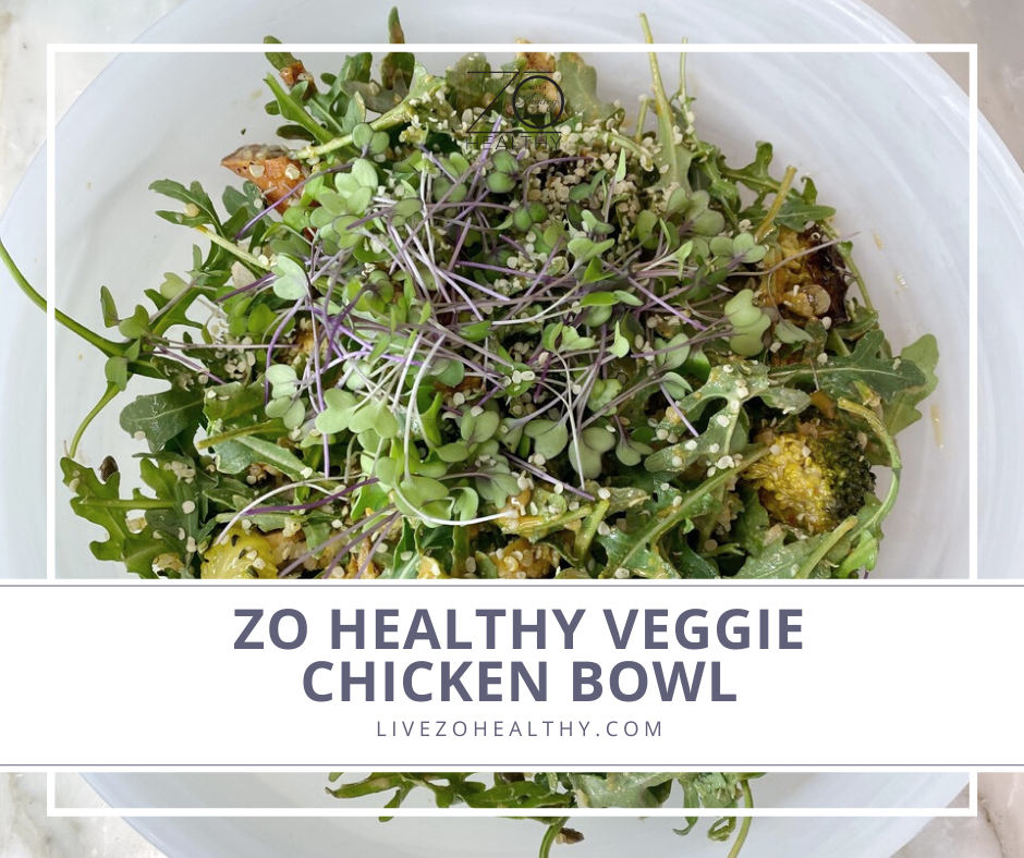 Zo Healthy Veggie Chicken Bowl photo