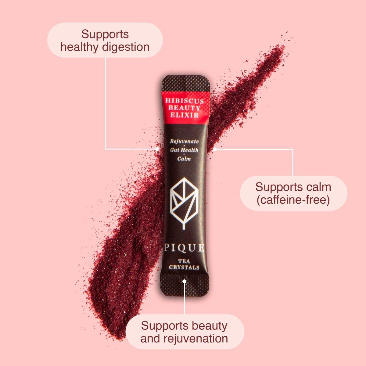 Hibiscus Beauty Elixir Sachet listing benefits
