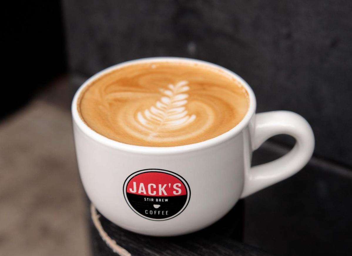 Jack's Stir Brew Coffee mug