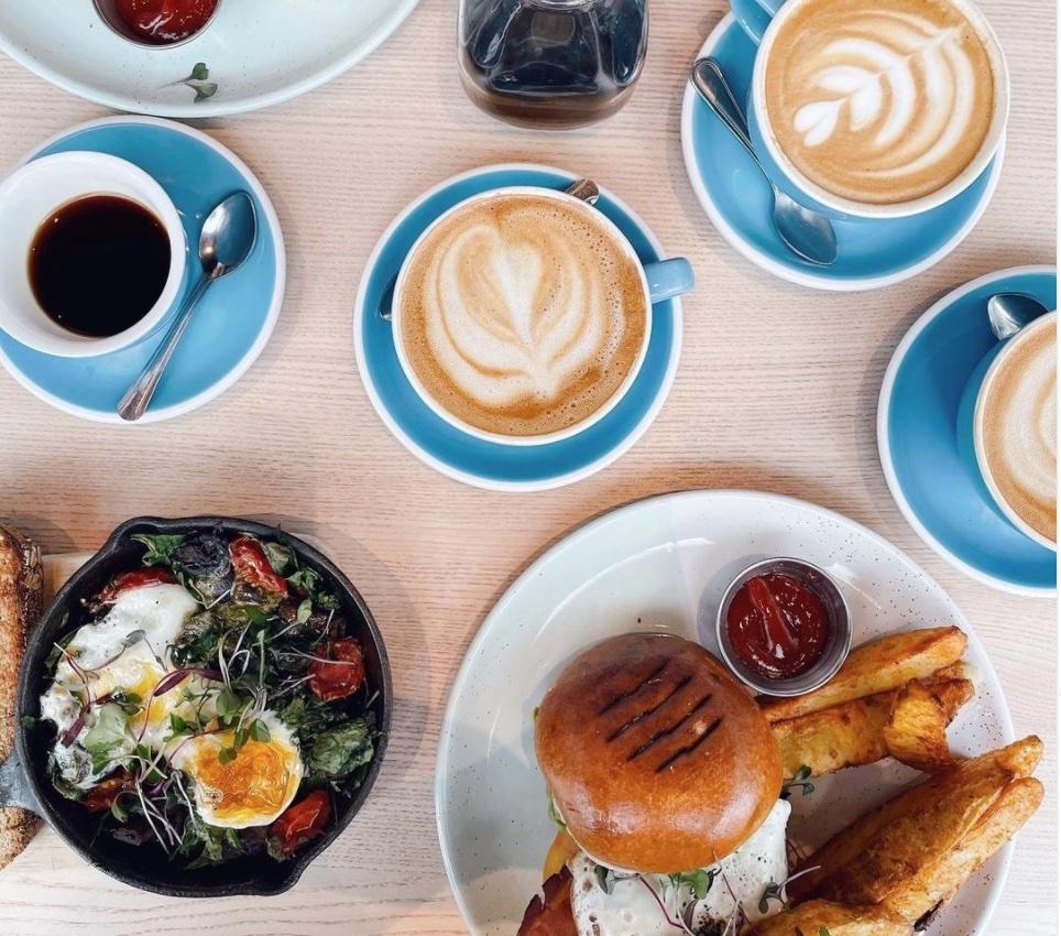Bluestone Lane Coffee and Food