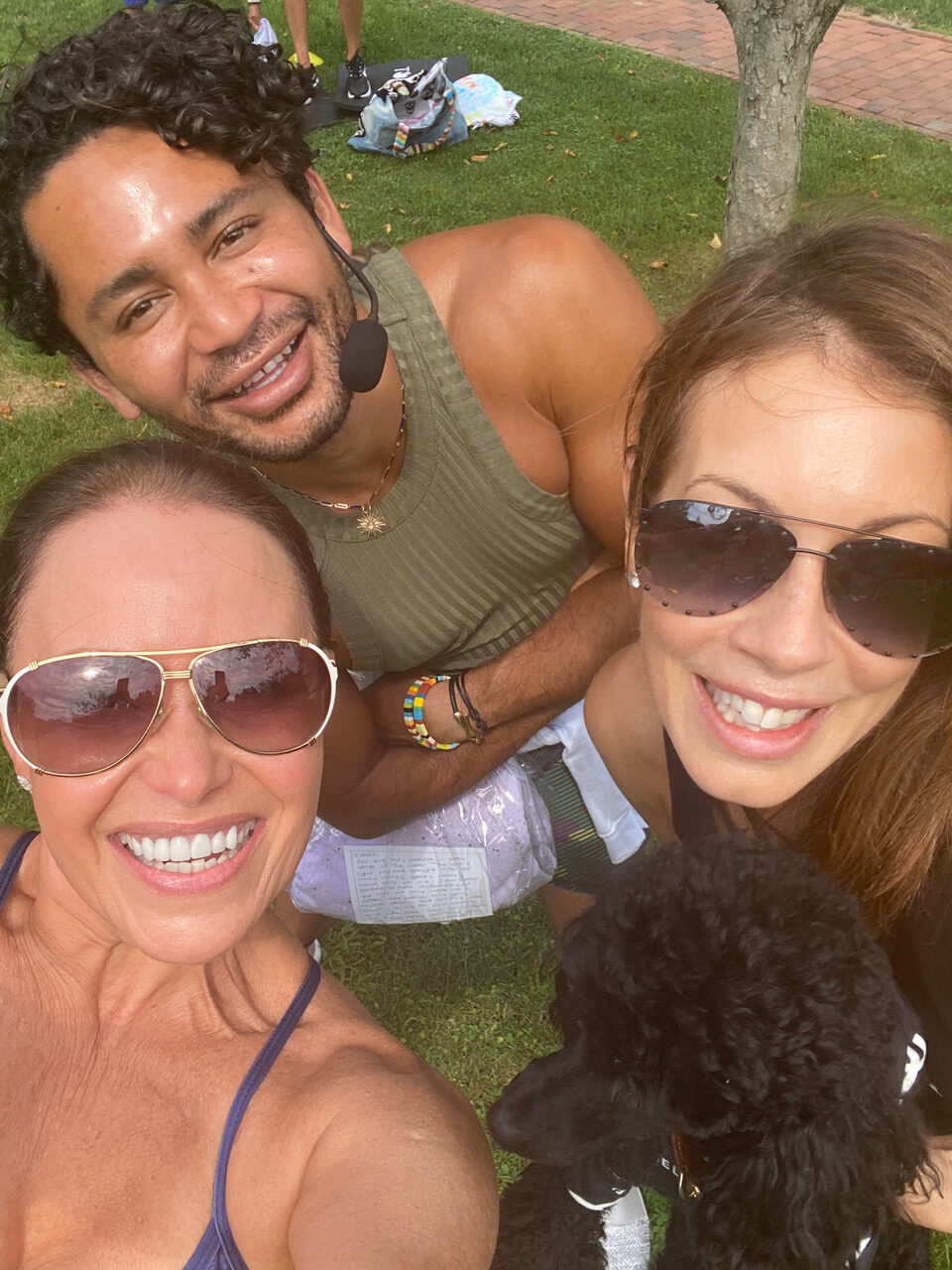 Photo of Isaac Boots with Audrey - Zo Healthy Hamptons Guide